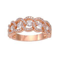 Fred Meyer Jewelers   3/4 ct. tw. Diamond Interlocking Circle Ring $1,415