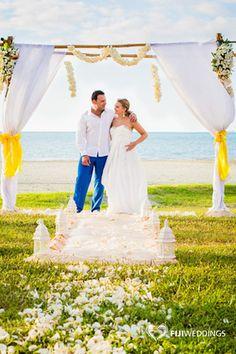 Wedding Ceremony Setup by Fiji Weddings Photography by: Nadi Bay Photography