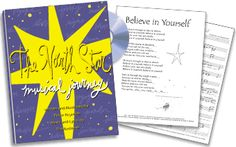 The North Star Musical Journey is a musical experience designed for young performers, based on the award-winning book The North Star by Peter H. Reynolds. With original songs composed by Tim Beckman, The North Star Musical Journey is a multimedia experience that students will love. The North Star Musical Journey Performance Kit: e-Book and MP3 format available for $79. Additional Journey collection items are also available. © 2001 FableVision, Inc.