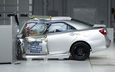 The 2013 Toyota Camry in Orlando was named an IIHS Top Safety Pick this year - find out how IIHS ranks these vehicles at the Toyota of Orlando blog!     http://blog.toyotaoforlando.com/2013/02/toyota-awarded-15-iihs-top-safety-picks-in-2013/
