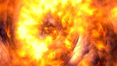 117 Dynamic gold raging fire photography&video background video material for video producer