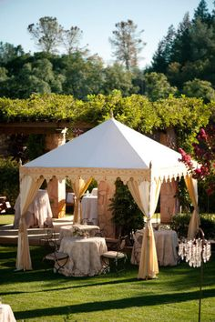 At Formentera Weddings we have hired in the past beautiful Indian style raj tents for our events, so there is no need to spend extra on embellishing the more widely available white plain tents / gazebos, which makes it all more expensive in the end. Sole Segura, wedding designer.