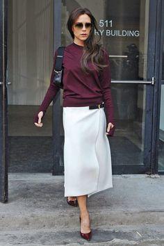Victoria Beckham - The Almighty Skirt, Balenciaga skirt