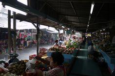 Bangkok – 4 Markets Off the Beaten Tourist Tracks (Photo: On Nut Market, Bangkok, Thailand)   http://travelntips.com