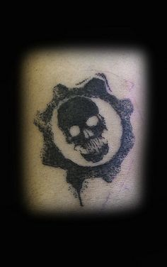 Top Gears Of War Cog Tags Necklace Tattoo Tattoo's in Lists for ...