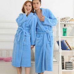 Belt Xmas Gift Size KöStlich Im Geschmack Luxury Mens Flannel Fleece Dressing Gown Robe Housecoat Nachtwäsche Kleidung & Accessoires