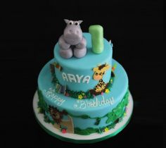 Safari cake inspiration