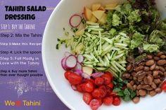 Tahini Salad Dressing – Vegan and Gluten free