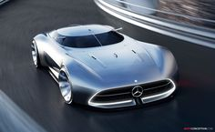 'Mercedes-Benz Future World' Concept Car