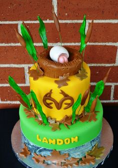 Girl Hunting Cake SimplyYummy Pinterest Cake Unique cakes and