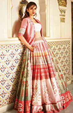 Fullonshaadi - Indian Wedding Outfits - Anita Dongre Love Notes Aditi Rao - Pink Lehenga