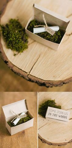 Elegant and whimsical are wrapped up together in these DIY Woodland Party Invitations. It would be perfect as your garden party invitation! Fairy Invitations, Garden Party Invitations, Wedding Party Invites, Party Favors, Invitations Kids, Invitation Ideas, Woodland Party, Woodland Wedding, Wedding Gift Messages