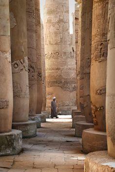 Karnak Temple, Egypt by Sebastien Mamy