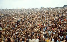 Woodstock morning audience  August 18,1969
