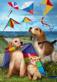 Let's Go Fly A Kite ~ Tom Wood