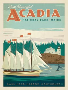 Anderson Design Group – American National Parks – Acadia National Park