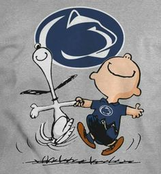 Charlie and Snoopy shirt College Goals, State College, College Life, Pennsylvania State University, Best University, Penn State Alumni, Snoopy Shirt, Dream School, Nittany Lion