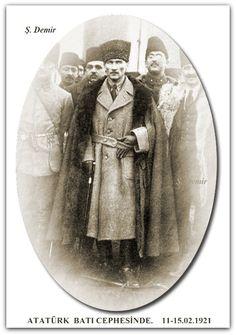 Mustafa Kemal  (Atatürk), Batı Cephesinde. 11-15.02.1921
