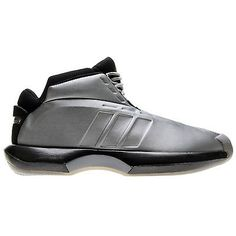 Adidas Crazy 1 Mens C75736 Silver Metal Kobe Basketball Shoes Sneakers Size 8