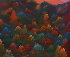 oil on canvas, 80x100cm. Oil On Canvas, Canvas Art, Berlin, Impressionism Art, Dusk, Buy Art, Saatchi Art, Original Art, Autumn