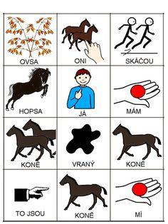 Pro Šíšu: Já mám koně Music Lessons, Preschool, Playing Cards, Language, Teaching, Comics, Logos, Kids, Fictional Characters