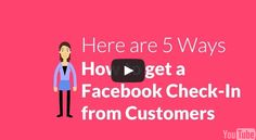 A Facebook Check-In, Yelp or Foursquare Check-in is great for your small business.   Each time a customer checks-in at your business, your business is now being seen by that persons fans & followers. The exposure for your business and social proof is huge!  The challenge though is how to get your customers to actually check-in? 13 Entrepreneurs share great tips on How to get a Facebook Check-In from Customers