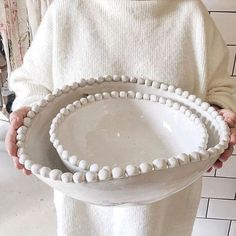 All white everything. Lovely shot of our rib-knit MOIRA sweater complete with Da… All white everything. Lovely shot of our rib-knit MOIRA sweater complete with Dassie Artisan bowl in hand. Ceramic Clay, Ceramic Plates, Ceramic Pottery, Pottery Art, Slab Pottery, Thrown Pottery, Pottery Studio, Sculptures Céramiques, Ceramic Sculptures