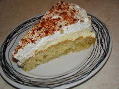 Πολίτικο εκμέκ με κρέμα πατισερί και σαντιγί | Olga's cuisine...και καλή σας όρεξη!!! Greek Sweets, Greek Desserts, Greek Recipes, Sweets Cake, Vanilla Cake, Cheesecake, Deserts, Dessert Recipes, Healthy Eating