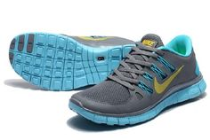 """""""Abbiamo Il Nike Free 5.0 Wmns Formazione Scarpe Cielo Blu / Grigio Ardesia) con 67.93"""" well,cheap and nice! I'd love to exercise in the morning if I have a pair."""