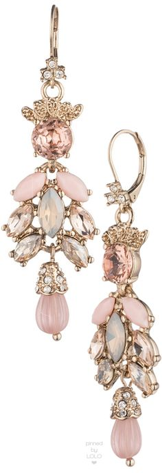 Marchesa Cluster Drop Earrings