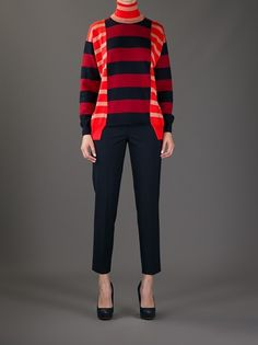 STELLA MCCARTNEY - striped sweater