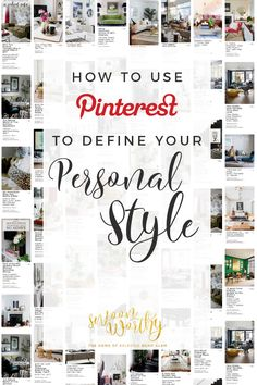 how to use pinterest to define your personal style interior design - Interior Design Style Quiz