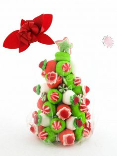 Arbol de Navidad Christmas Sweets, Kids Christmas, Christmas Cookies, Christmas Decorations, Christmas Ornaments, Candy Pop, Candy Party, Candy Trees, Sweet Trees