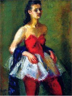 Ballerina - Iosif Iser, Expressionism Expressionist Artists, Balerina, Art Database, Art For Art Sake, Impressionism, Parisian, Cool Pictures, Bucharest Romania, Artsy Fartsy