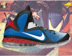 Lowest Price Nike Lebron 9 469764 400 Kentucky Varsity RoyalWhit