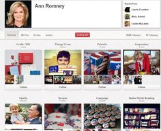 Politics, Pinterest, and Publicity: How Michelle Obama and Ann Romney Use Pinterest | Business 2 Community