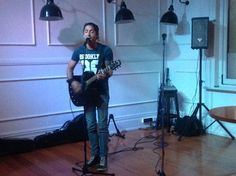 Franko starts the night by nailing a Tom Petty cover, Free Fallin!