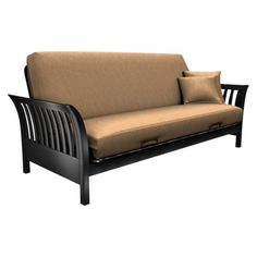 love this one   but 279 00 just for the frame  futon frame   medina   double   beechwood   bend apartment      rh   pinterest
