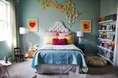 Decorating Ideas for A Small Bedroom On A Budget - Interior Paint Color Ideas Check more at http://mindlessapparel.com/decorating-ideas-for-a-small-bedroom-on-a-budget/ #teengirlbedroomideasonabudget