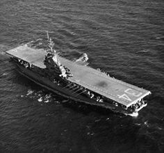 High angle view of an aircraft carrier in the sea, USS Oriskany (CV-34) Poster… Us Navy Aircraft, Navy Aircraft Carrier, Naval History, High Angle, United States Navy, Navy Ships, Military Life, Pearl Harbor, Submarines
