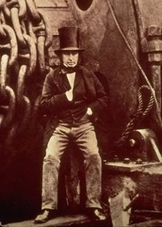 Born on this day 9th April, 1806, Isambard Kingdom Brunel Civil engineer. Born Portsea, Hampshire. Constructions include: Great Western Railway and the Clifton Suspension Bridge. Died at home, 18 Duke Street, Westminster, the house where he had lived and worked for much of his professional life. A very popular Brit, as illustrated in the terrific animated short film from 1975 by Bob Godfrey: 'Great (Isambard Kingdom Brunel)'. Cont..