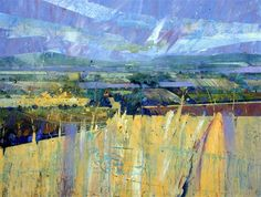 View from Ditchling Beacon,Lorna Sussex Acylic on canvas http:///www.lornaholdcroft.co.uk