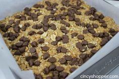 Homemade Granola Bars Peanut Butter Chocolate Chip