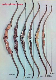 hunting bows | Hunting Bows, Bow & Arrow, October 1973 #huntingbows