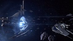 Mass Effect 3 - The Fleet arrives by SupermanLovesAspen on @DeviantArt