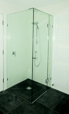 SimplyFrameless Two Panel Fronted Frameless Shower Screen