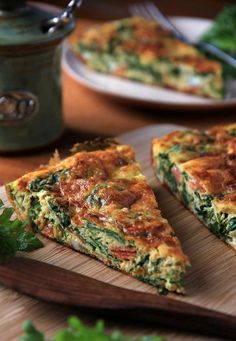 From Wonderful Greece - Greek Spinach Pie This looks so good!