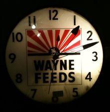 1950's Pam Vintage Advertising Clock