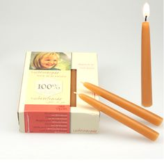 Waldorf Birthday Ring Candles, 100% Beeswax