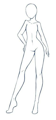 Body Sketches, Art Drawings Sketches, Images Of Drawings, Drawings Of Girls, Drawing Body Poses, Body Base Drawing, Female Drawing Base, Body Reference Drawing, Drawing Body Proportions